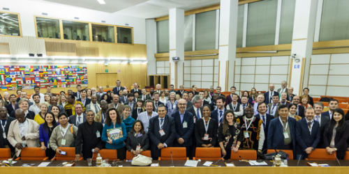 Attending 5th Global Meeting of the Mountain Partnership in Rome