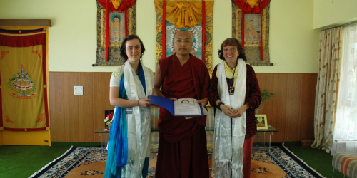 Support & Encouragement From H.H The 17th Karmapa