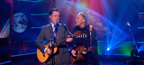 """Neil Young 's Earth Song """"Who's Gonna Stand Up"""""""